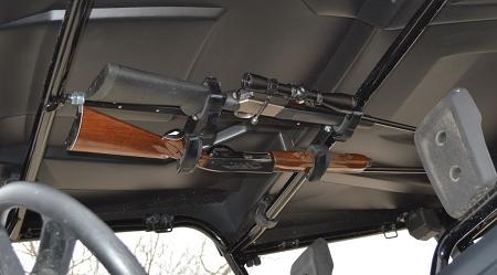 Quick Draw Overhead Gun Rack For 2013 Crew Cab Utv S With