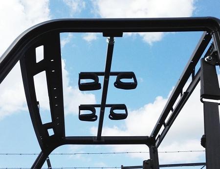 Quick Draw Overhead Gun Rack For 2015 Polaris Ranger 570