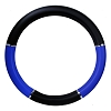 Steering Wheel Cover Blue and Black 18