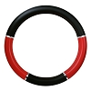 Steering Wheel Cover Red and Black 18