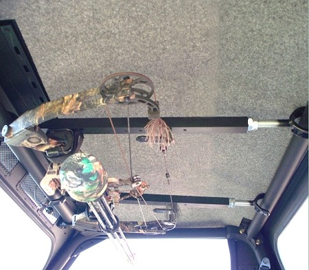 Quick-Draw™ Overhead Bow Rack for UTV's