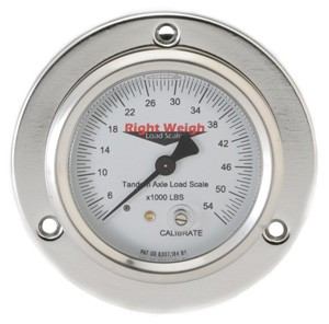 Right Weigh Load Scales, 250-54-FF Flange Mount